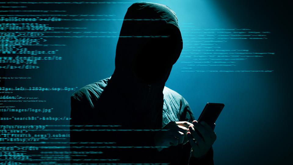 Hacker ve tmě