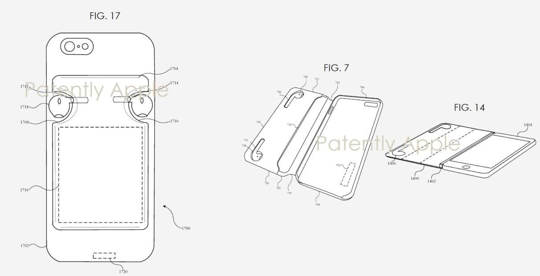 Charging case patent