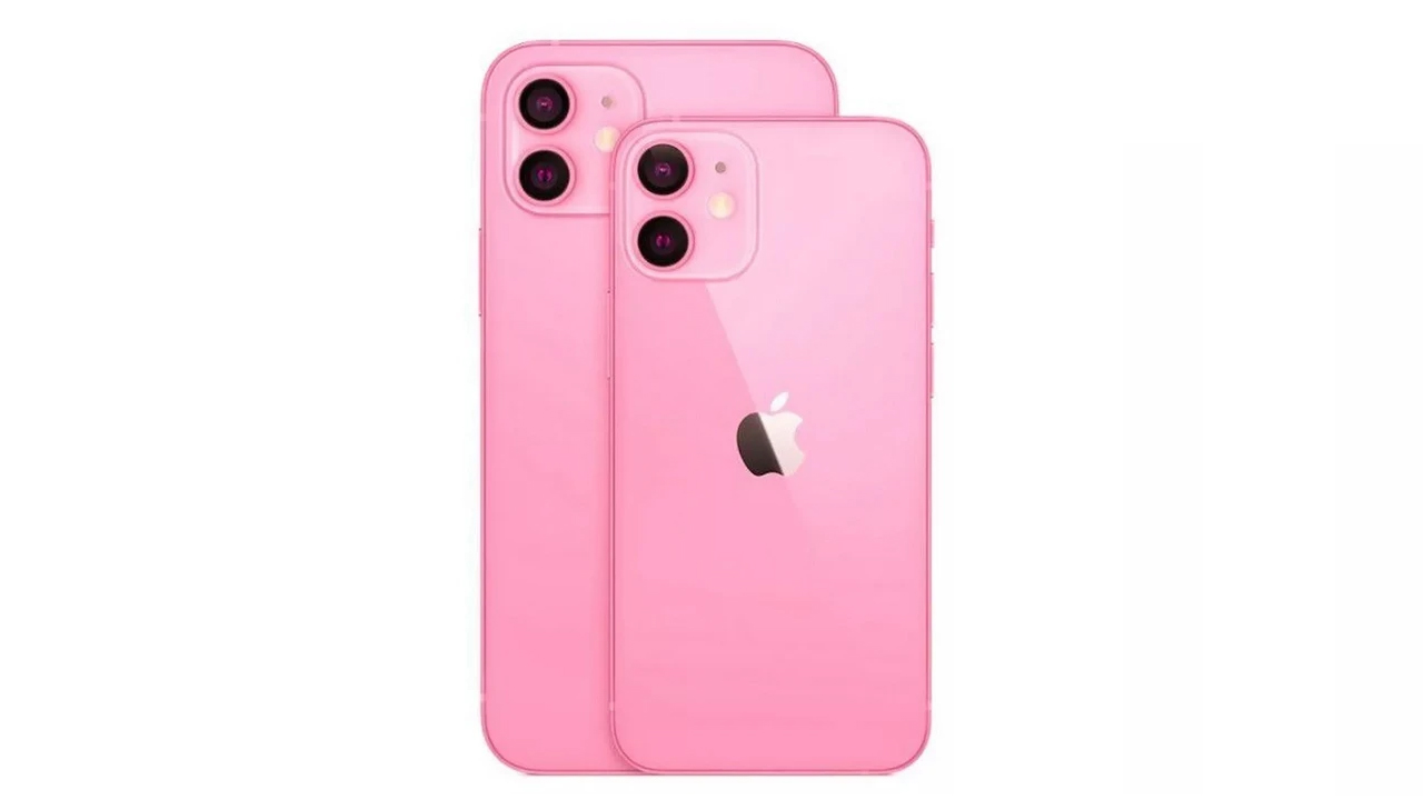 iPhone 13 in pink
