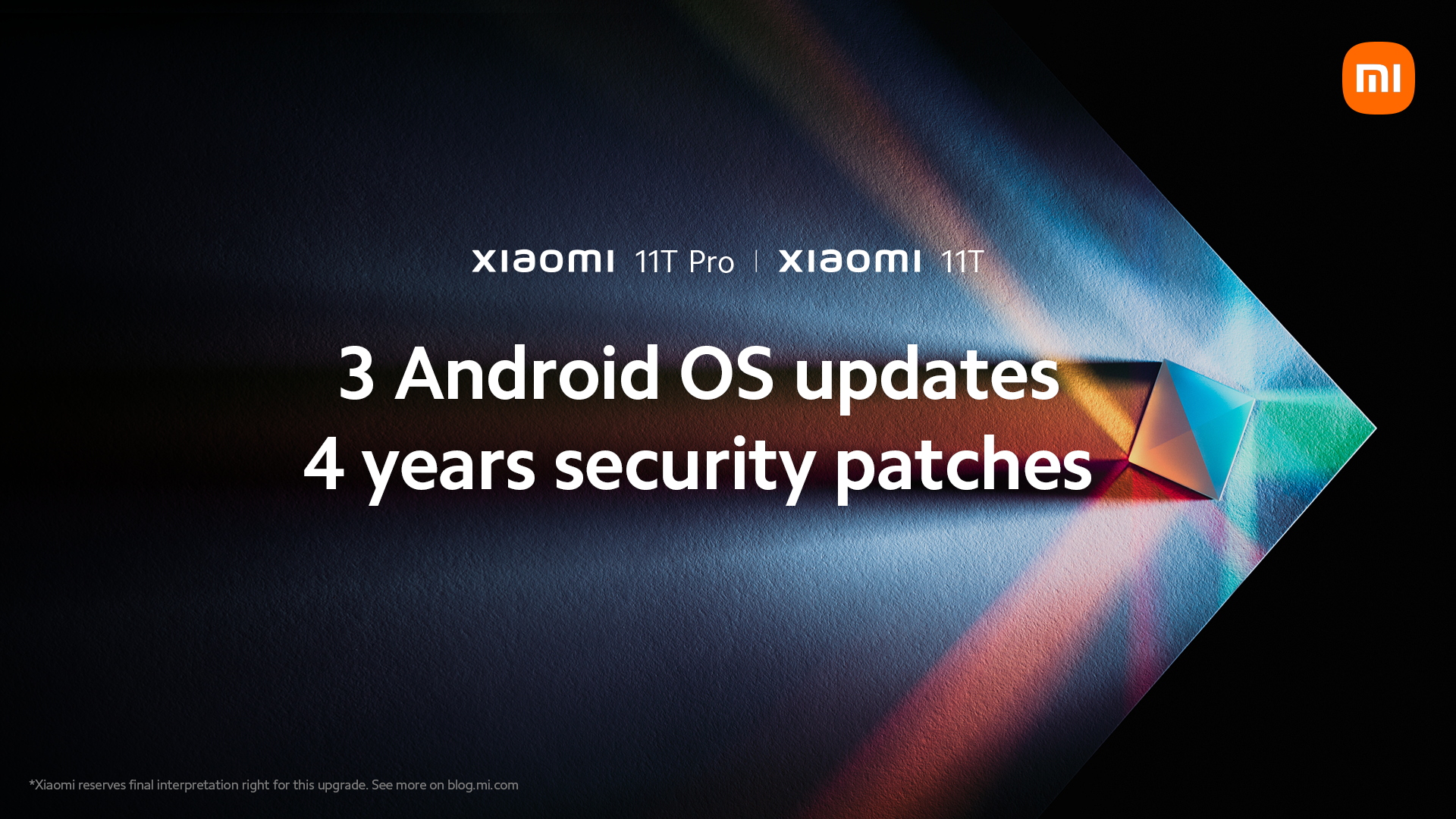 Xiaomi and 4 years updates